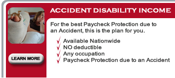 Accident Disability Income